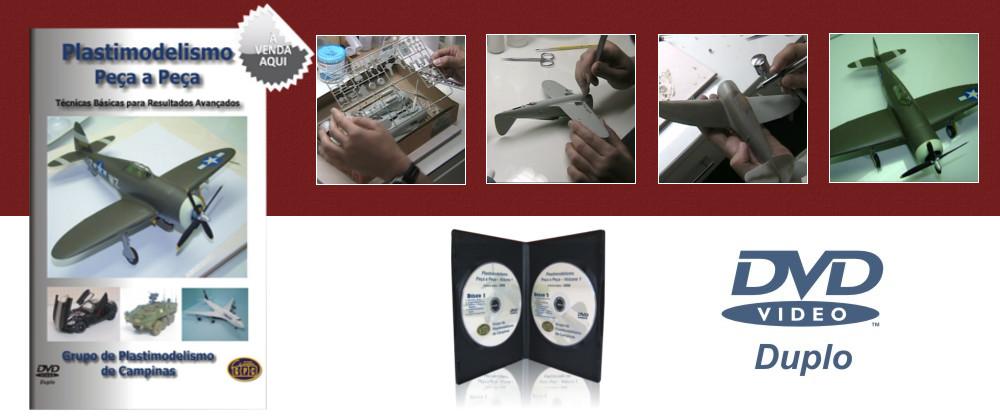 DVD Plastimodelismo Peça-a-Peça